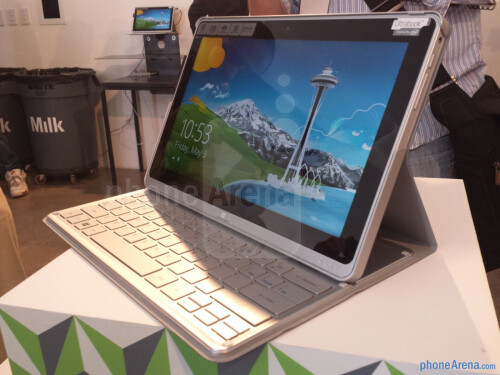 Acer Aspire P3 hands-on