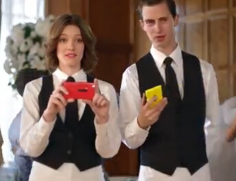 Above it all is the Nokia Lumia 920 - Searches for the Nokia Lumia 920 surge following release of the wedding day fight ad