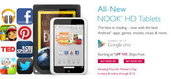 Barnes and Noble is slashing Nook HD and HD+ prices for Momma