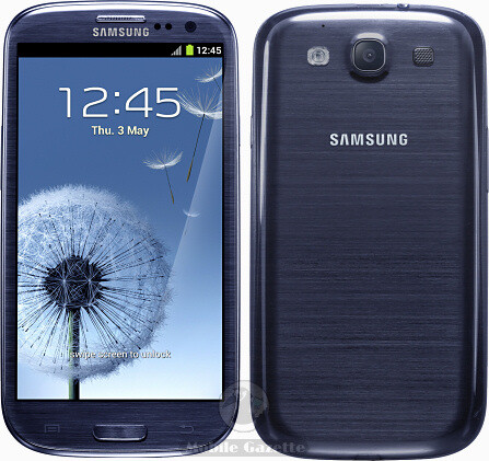 Muggers are now targeting Samsung models like the pictured Samsung Galaxy S III - Samsung's market share rising among muggers