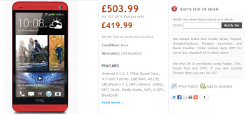 Register now for the red HTC One from Handtec