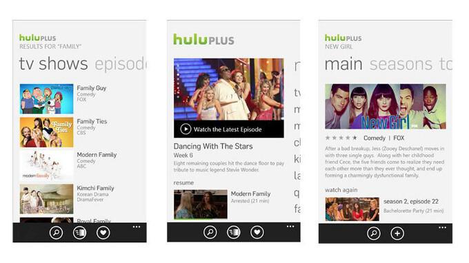 Hulu Plus lands on Windows Phone 8