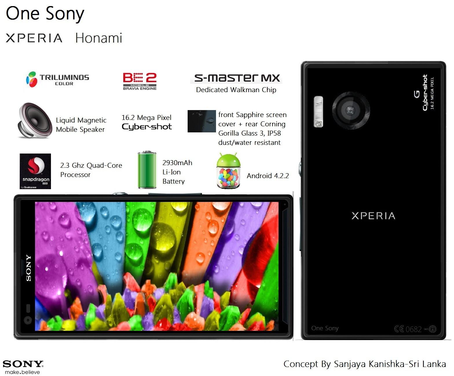 [NOTICIA] Sony xperia honami, el movil definitivo... 16 megapixeles , altavoces ultraliquid