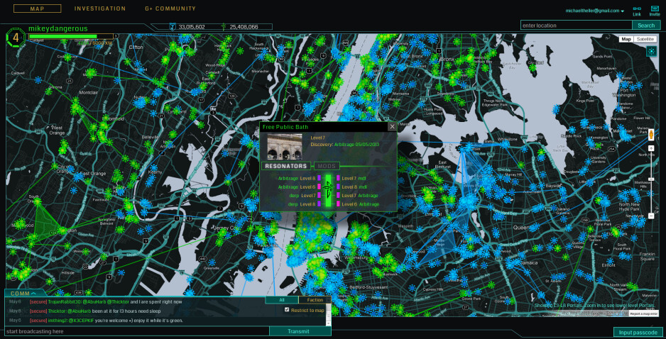 Ingress parties scheduled around Google I/O: what would it mean if the game goes live to all?