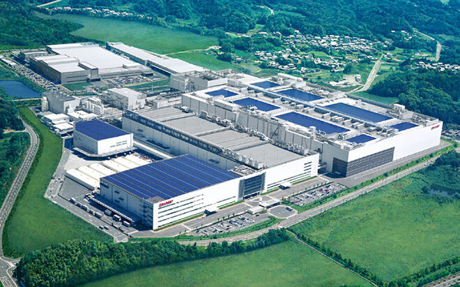 Sharp's Kameyama Plant No. 1 will allegedly produce LCD displays for the next Apple iPhone - Sharp to start LCD production for the Apple iPhone 5S next month