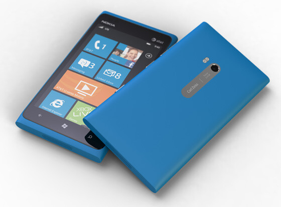 The Nokia Lumia 900 - AT&T's Nokia Lumia 900 gets Windows Phone update
