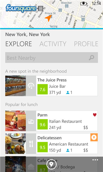 Foursquare releases update that feels at home on Windows Phone