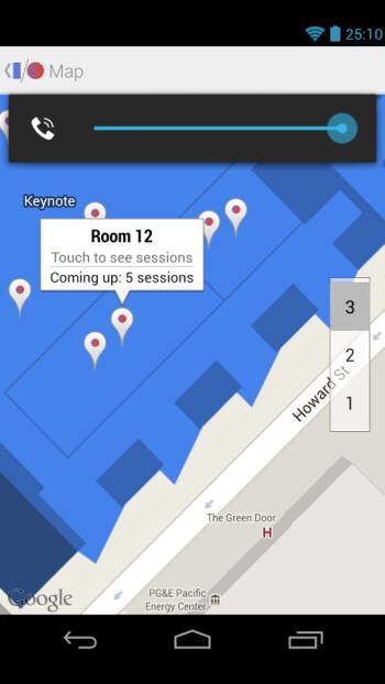 Screenshots from Google I/O 2013