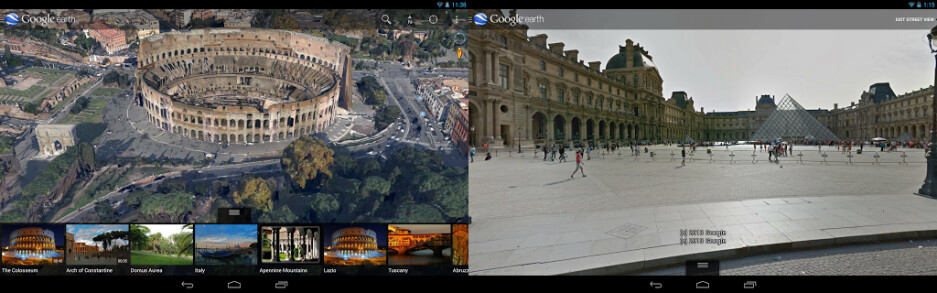 Google Earth for Android gets Street View and tweaked UI