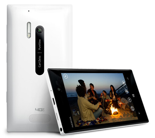 The Nokia Lumia 928 in white - Nokia Lumia 928 camera shows remarkable stability while attached to a remote control copter