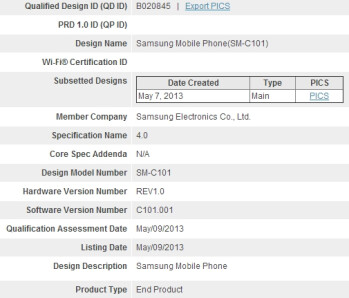 Samsung Galaxy S4 Zoom cameraphone confirmed by Bluetooth SIG filing, to sport 10x optical zoom