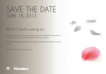 "Huawei to announce a ""beautiful"" new device on June 18"