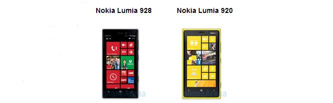 Verizon's Nokia Lumia 928 vs AT&T's Nokia Lumia 920: here are all the differences