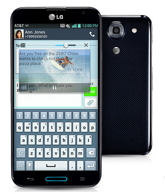 QSlide 2.0 on the LG Optimus G Pro lets you multitask with ease - What's new at AT&T? The LG Optimus G Pro and the 32GB Samsung Galaxy S4 are now both available
