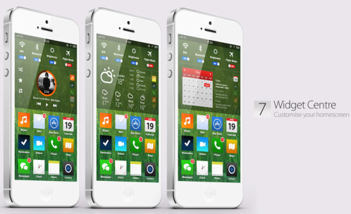 iOS 7 concept shows that change is good