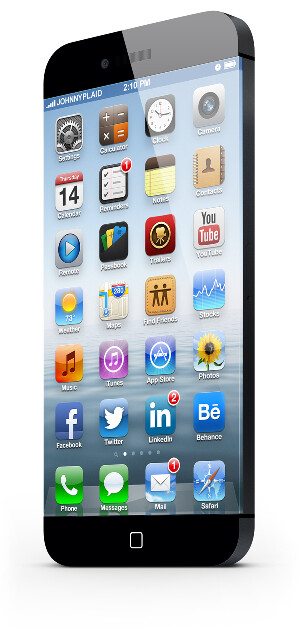 Apple iPhone 6 concept features edge to edge display on 4.5 inch screen