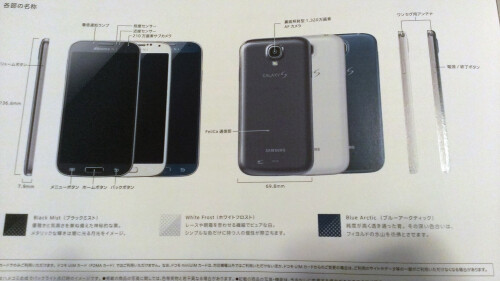 Samsung Galaxy S4 in Arctic Blue
