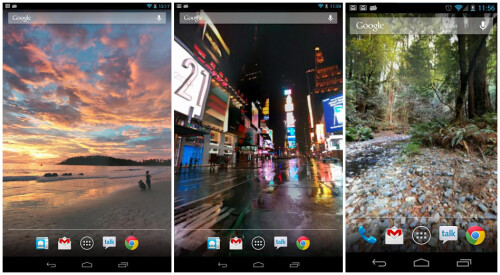 Photosphere Live Wallpaper