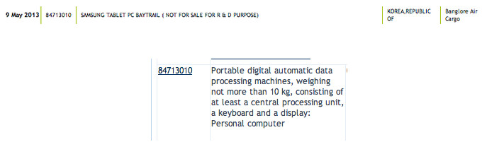 Samsung prepping a tablet/convertible with Intel's new power-sipping Bay Trail processor