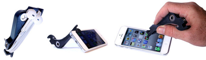 The XiStera 8 for iPhone 5 serves 8 different functions - XiStera 8 is an iPhone 5 accessory with 8 different functions
