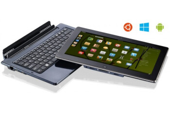 Android, Windows and Linux coexist peacefully on this 11.6-inch tablet