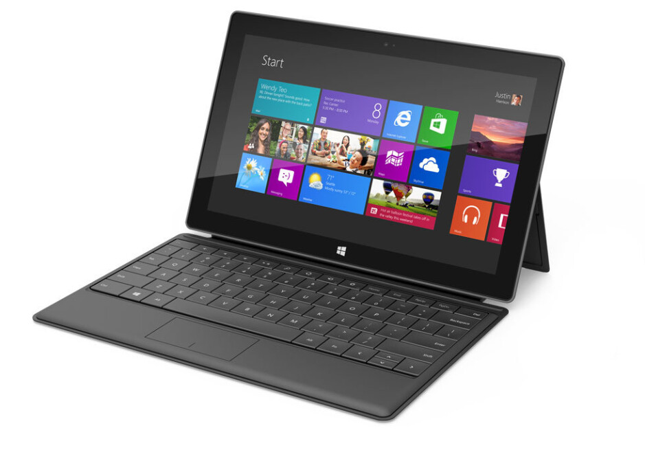 The Microsoft Surface RT tablet - Microsoft Surface RT and Microsoft Surface Pro each get their monthly update