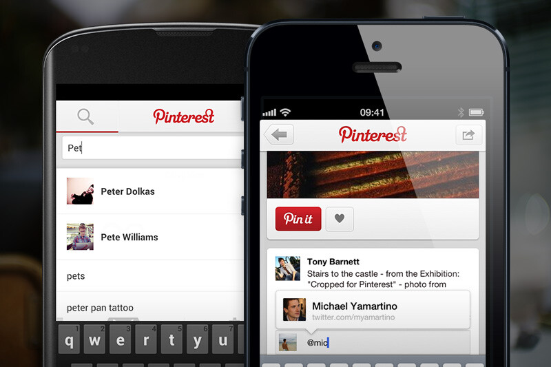 pinterest app for ios and android both receive update. Black Bedroom Furniture Sets. Home Design Ideas