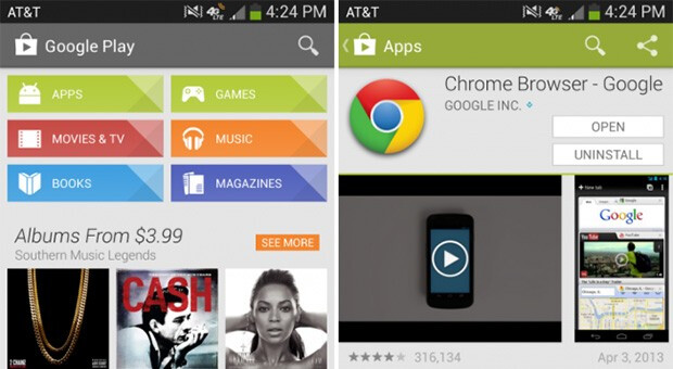 Google Play Store gets small update with new UI and mysterious new syncing options