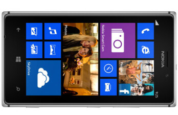 At 600 nits, the Nokia Lumia 925 display is the brightest mobile AMOLED panel to date