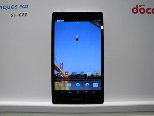 Sharp Aquos Pad SH-08E tablet