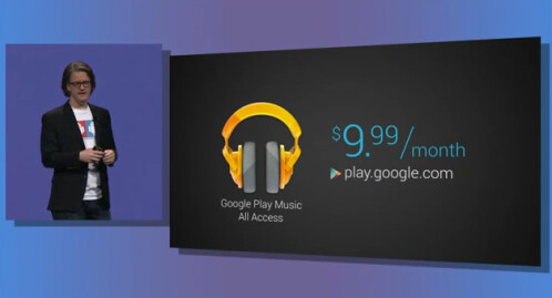 "Google announces Google Play Music All Access: ""Radio without rules."""