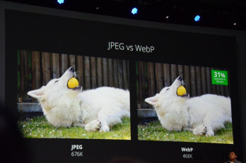 Google announces WebP and WebM new image and video formats: more efficient compression