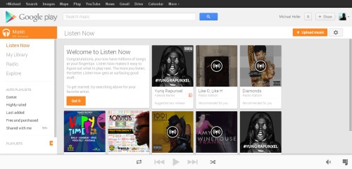 Google Play Music update brings All Access, new UI and more