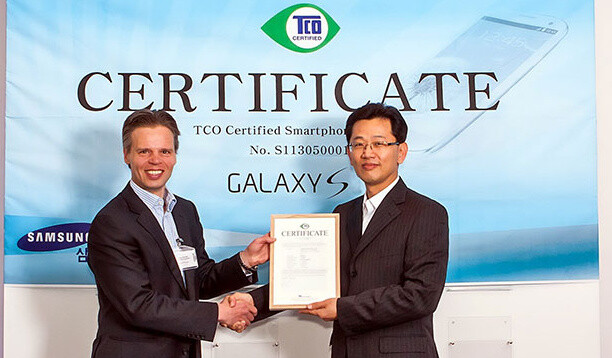 Samsung Galaxy S4 becomes the first smartphone passing TCO certification