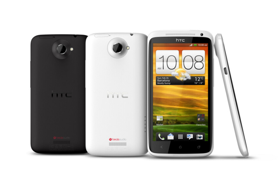 The HTC One X. - HTC One X to get Zoe and BlinkFeed in upcoming Sense 5.0 update