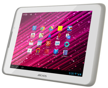 The Archos 80 Xenon tablet