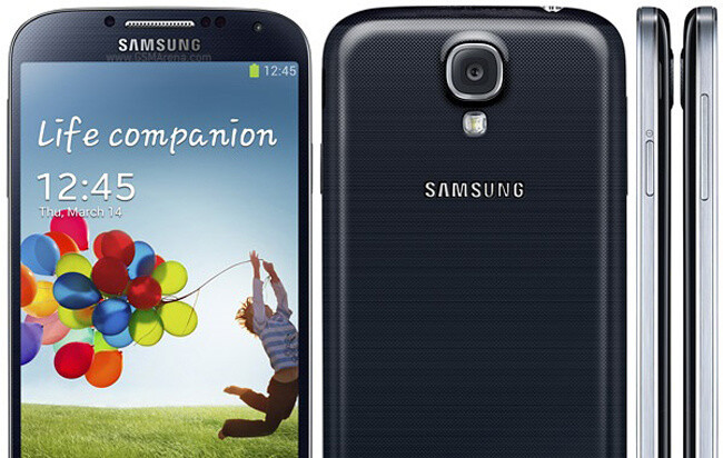 The new Samsung Galaxy Note III is expected to look like a bigger Galaxy S4 (pictured above). - Samsung officials confirm 5.9-inch Note III will come at IFA in September, Galaxy S4 to hit 10 million sales next week