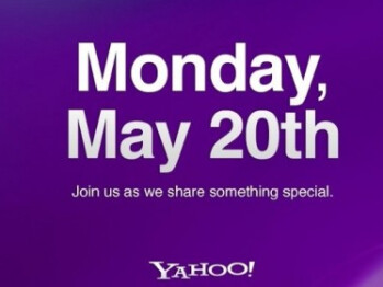 Yahoo announces a press event for Monday