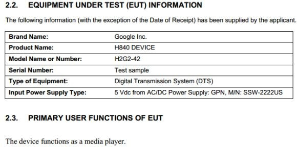 FCC documentation hints that the sequel to the Nexus Q has rolled into town - Mystery Google device at the FCC could be the long-awaited sequel to the Nexus Q