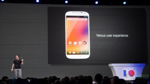 Samsung Galaxy S4 Nexus user experience