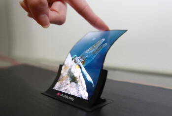 LG Display will be showing off its 5 inch flexible display this week