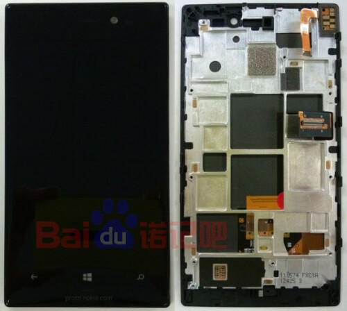 Nokia Lumia 928 taken apart, flaunts funky battery shape