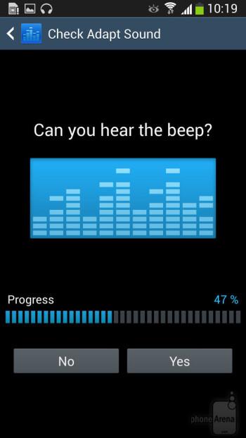 Setting up Adapt Sound on a Samsung Galaxy S4