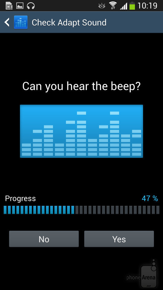 Setting up Adapt Sound on a Samsung Galaxy S4 - Make your Samsung Galaxy S4 sound better using Adapt Sound