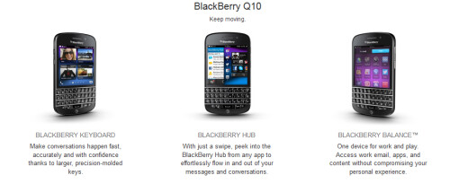Pre-register the BlackBerry Q10 from AT&T