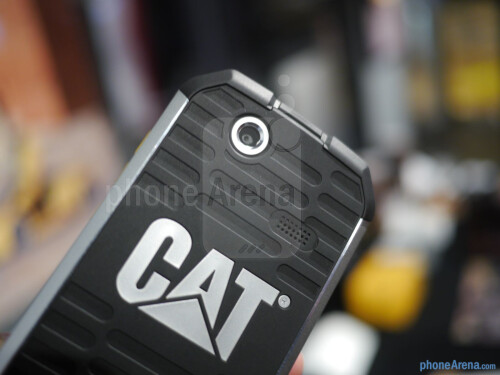 Cat B15 rugged Android smartphone hands-on