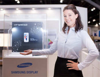 """SID expo 2013: Galaxy S4 display has the widest color gamut, Samsung demos 13.3"""" panel with 3200x1800 pixels"""