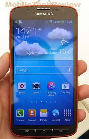 Rugged Samsung Galaxy S4 Active leaks on video: Snapdragon S4 Plus, 8 MP camera