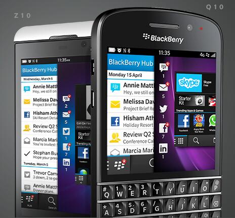 Win a BlackBerry Z10 (L) or a BlackBerry Q10 - Win a BlackBerry Z10 or BlackBerry Q10 directly from BlackBerry U.K.