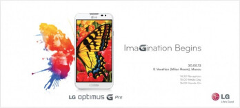 LG Optimus G Pro to be unveiled in Asia on May 30th